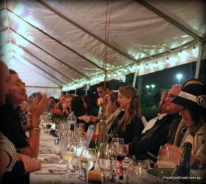 Long Table Dinner, 16 May 2015