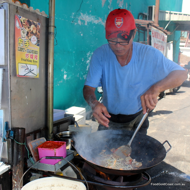 Penang Rd Koay Teow stall