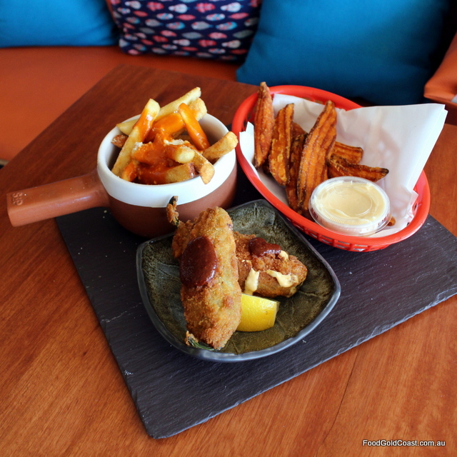 Good Wolf_Jalapeno poppers, Sweet potato and Loaded fries