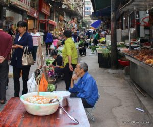 The street food of China