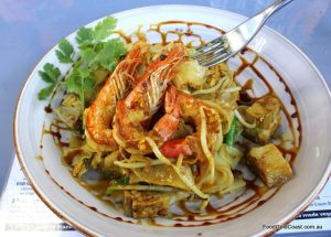 Char Kway Teow, the fishermen's meal