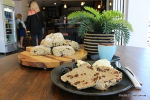 Coffee Sisters' Date and Orange Scones