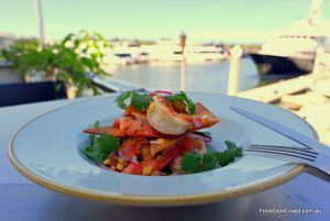 Dining at the Gold Coast Marina